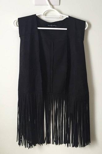 Long Fringe vest