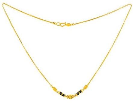 Minimalist mangalsutra chain