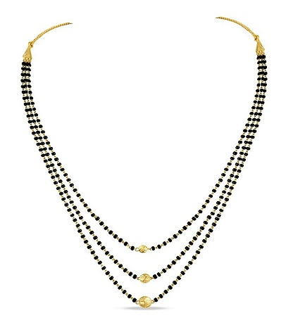 Multi Layers 22k Gold Mangalsutra
