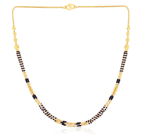 Multi layer mangalsutra chain