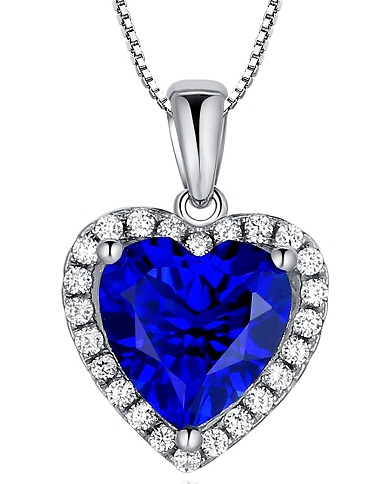 Natural crystal pendant