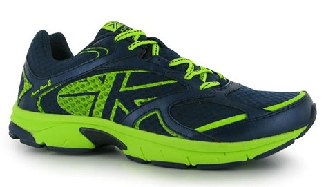 Neon Black Pace Run 2 Men's Trainers