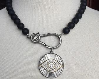 Onyx Birthstone Necklace