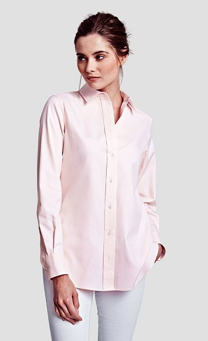 Oxford Pink Women Shirts
