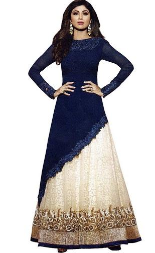 Pakistani Salwar Kameez Skirt8