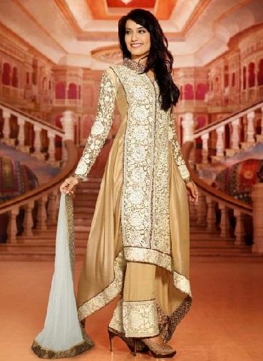 Pakistani Zari Work Suit