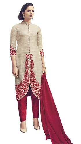 Party Wear Stitched Salwar Suit