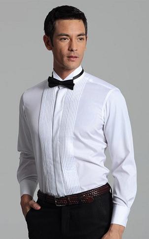 Party wear white shirt