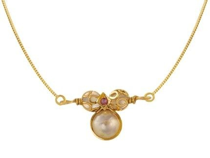 Pearl studded Mangalsutra