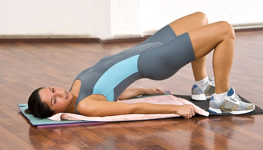 Back Fat Exercises At home Floor Exercise