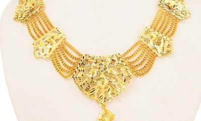 Perfect occasional wear Gold Plated Necklace