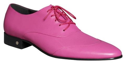 Pink Dress Shoe for Men
