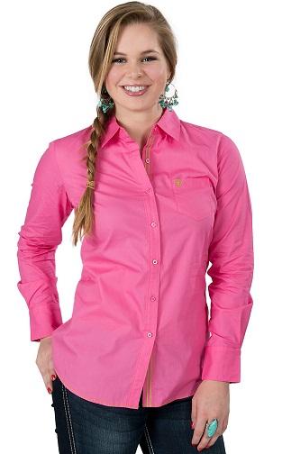 Pink Long Sleeve Shirts