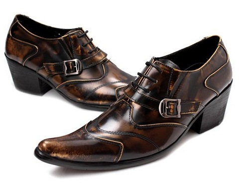 Pointed Edge Formal Black Shoes For men -22