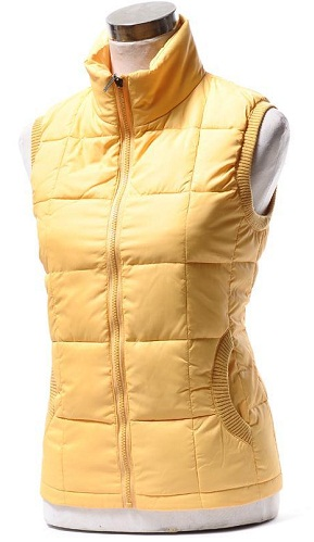 Polo Neck Winter Vest
