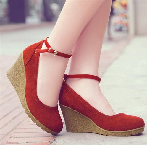 Preppy style wedges