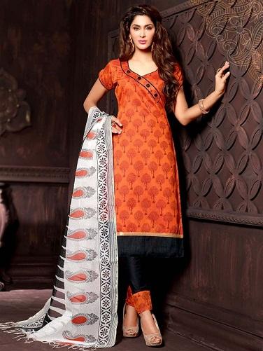 Printed Fancy Salwar Suit