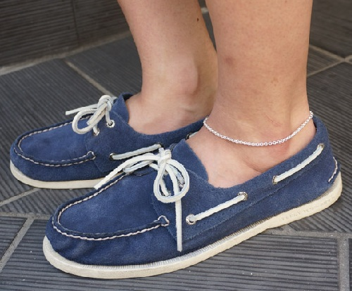 Pure Roll Chain Anklet