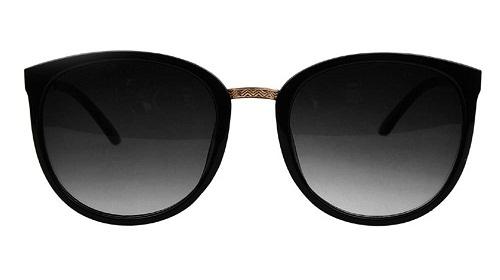 Retro Black Frame Women's Sunglass -1