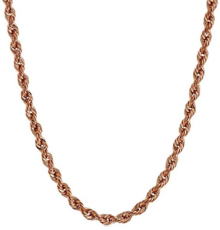 Rope Rose Gold Chain