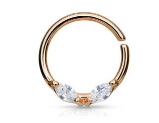 Rose Gold Septum Ring