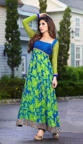 Royal Print Floral Salwar Suit