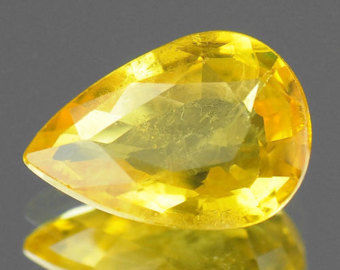 Rutilated Topaz Birthstone