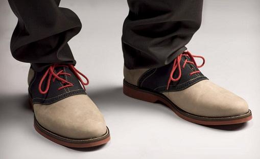 Saddle Causal Men Shoe -3