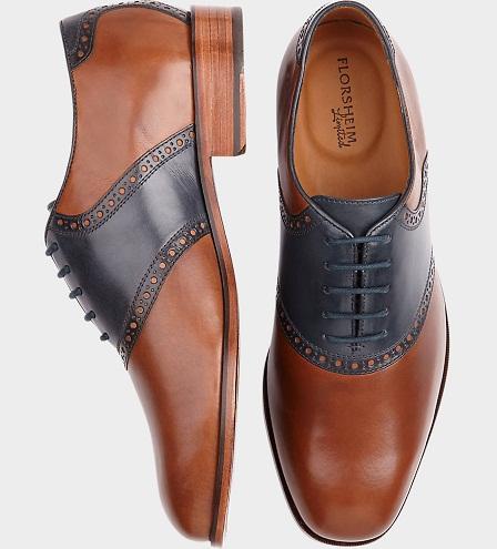 Saddle formal shoes for men -29