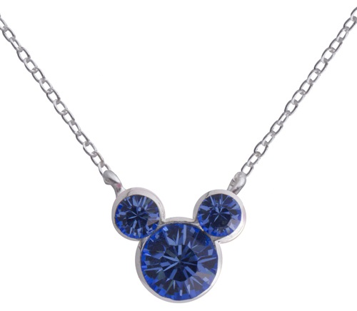 Sapphire Birthstone Pendnat Necklace