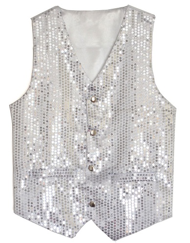 Sequin designer vest for Men