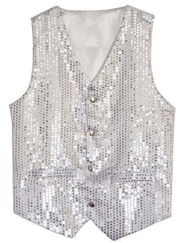 Sequin designer vest for Men