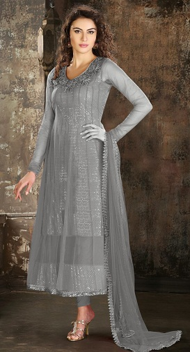 9 Beautiful Designs Of Grey Salwar Suits For Women In Trend