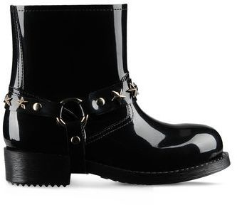 Shiny Rain Ankle Lenght Boot For Women -12