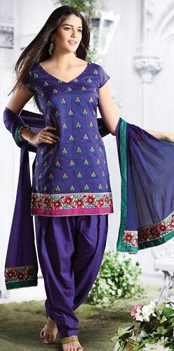 Short Sleeve Salwar Kameez