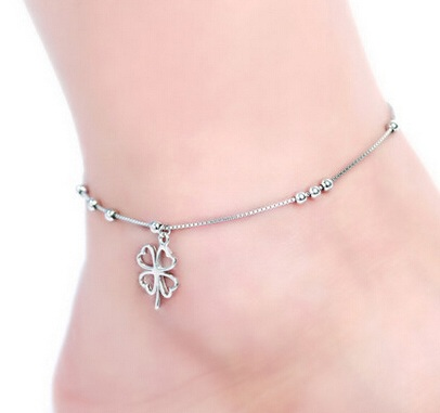 Silver Leg Anklet for Women