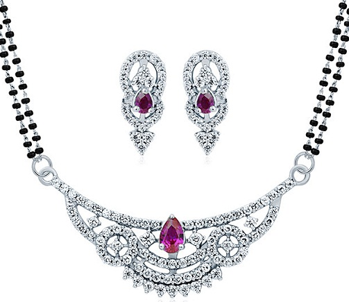 Silver Mangalsutra Sets9
