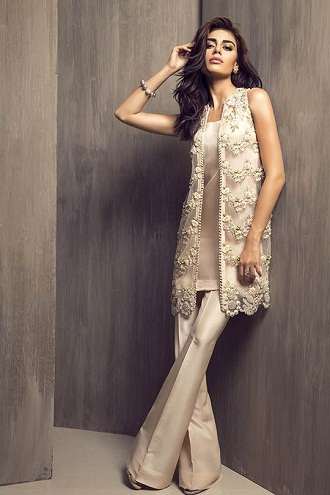 Silver Parallel Salwar Suit