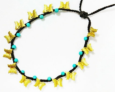 Simple Butterfly Anklets