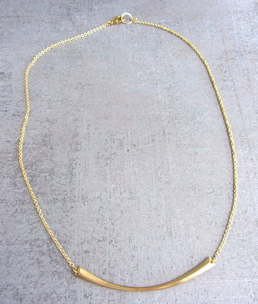 Simple Chain with Gold Stick