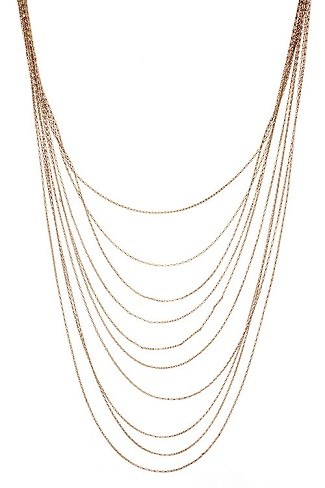 Simple Layered Gold Chain