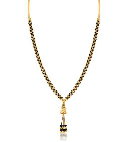 Simple Mangalsutra with Hanging Pendant