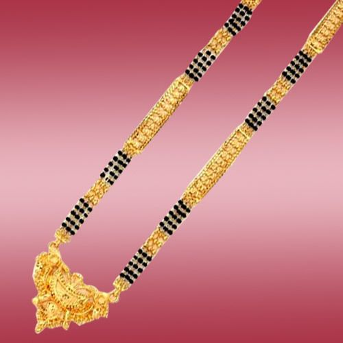 Simple long mangalsutra