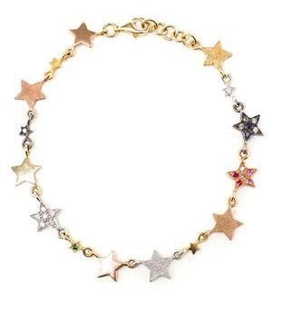 Simple star charm bracelet