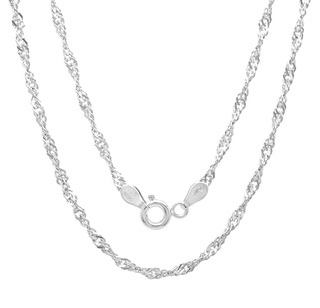 Singapore design Sterling silver Chain