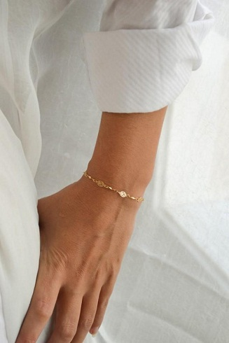 Slim Gold Platted Bracelet