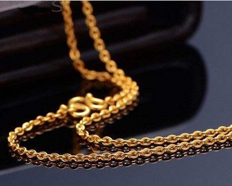 Smooth24k Gold Chain
