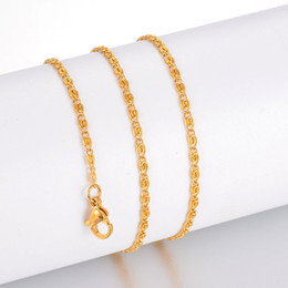 Snail chain in gold -4