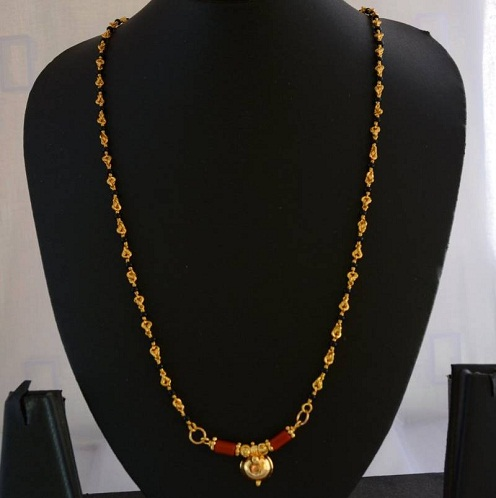 Long Mangalsutra Designs These Collections Are Trending Now