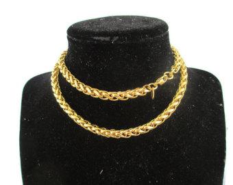 Spiga heavy gold chain